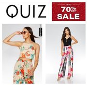 Quiz Sale is LIVE - up to 70% OFF