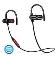 Bluetooth Headphones, Wireless Headphones with Mic, 12 Hours Playtime, IPX7