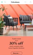 30% off Womens, Kids, Home and Garden Furniture in the Debenhams Easter Event
