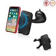 ZoeTec Wireless Car Charger Fast Wireless Charger for Samsung