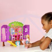 Barbie Chelsea Treehouse Portable Playset with Doll