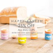 25% off All Egg Cups