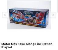 Motor Max Take Along Fire Station Playset - Save £50
