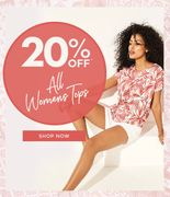 20% off All Womens Tops at Peacocks