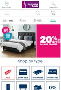 Free Delivery on Orders at Bensons for Beds