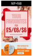 All Your Faves for £5 is Back