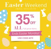 VERtBAUDET - EASTER EXCLUSIVE! 35% off ALL FULL PRICE ITEMS!