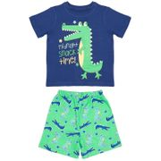 Kids Toddler Short Pyjamas - Midnight Snack Time