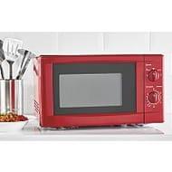 Red Manual Microwave