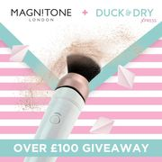 Win a Magnitone BlendUp Makeup Blending Brush & Duck and Dry Gift Card!