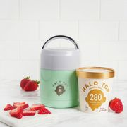 Win an Engraved Flask & 5 Tubs of Halo Top Ice Creams!