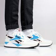 Reebok Bolton Shoes Chalk/White/Red Rush/California Blue/Black