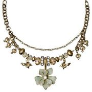 Necklace : Sweetie : Gold Plated : Green