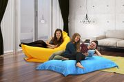 Indoor & Outdoor Big Brother Beanbag Chair L/XL Various Colours from £22