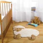 Cute Little Lamb Nursery Rug by Kids Rugs