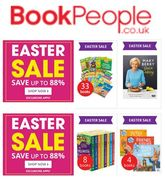 Easter Sale at THE BOOK PEOPLE - Up to 88% Off
