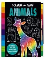 Scratch and Draw: Animals