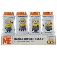 Minion Bath & Shower Gel 4 X 75ml