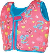 Zoggs Kids Swim Sure Swimming Jacket with Zip in Front (Pink) 4-5 Years -47% Off