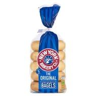 New York Bakery Co Original Bagels 5 per Pack - Save £0.60