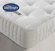 Silentnight 1400 Pocket Natural Wool Mattress | Tailored Back Support - 21% Off