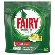 Fairy All in One Dishwasher Tablets Lemon