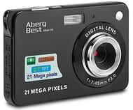 "AbergBest 21 Mega Pixels 2.7"" LCD Rechargeable HD Digital Video Cameras"