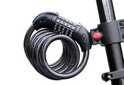 Foneso Bike Security Cable Lock 5-Digit Self Coiling Resettable Combination Code