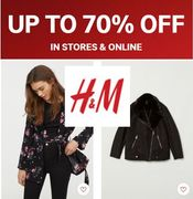H&M SALE - up to 70% OFF