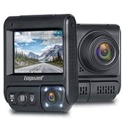 Deal Stack Dual Lens Dash Cam Dual 1920x1080P Front and Cabin Dash Camera