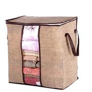 YAGAIU Non-Woven Portable Storage Bag Pillow Duvet Cover Clothing Organizer Bag