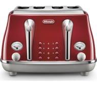 *HALF PRICE* DELONGHI Icona Capitals 4-Slice Toaster 4 Colours