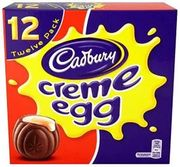 Cadbury Creme Egg X12 475g (Check Your Local Store for Available Range)