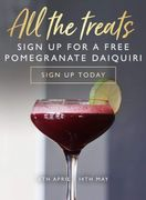 Free Pomegranate Daiquiri