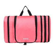 Eono Essentials Travel Toiletry Bag Packs Flat to save Space Waterproof Hanging