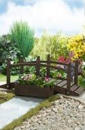 Wooden Decorative Planter Bridge Only £29.99