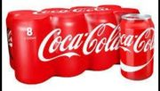8 X Cans of Coca Cola - £2 Instore at Morrisons