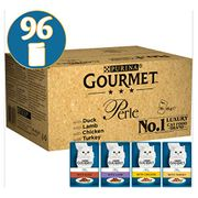 SAVE £10 Gourmet Perle Chef's Country Collection in Gravy 96 PACK FREE DELIVERY