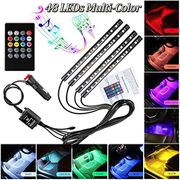 Car LED Strip Lights 48 LEDs 12V BETTER Than Half Price