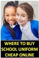 Where to Buy CHEAP School Uniform Online