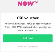Students Only! NowTV Broadband - £50 Voucher for Signing Up!