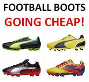 Boys FOOTBALL BOOTS from £6.99