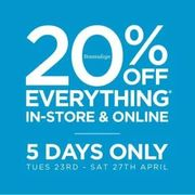 20% off Everything with a £20 Spend with Code at Bon Marche