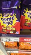 Creme Egg Twisted - Instore Asda - 25% Off