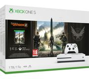 MICROSOFT Xbox One S with Tom Clancy's the Division 2 Only £229