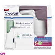 Clearasil Perfectawash Automatic Acne Treatment Face Wash Dispenser and Refills