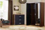 3pc Matte Bedroom Furniture Set - 4 Colours!