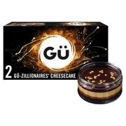 GU Zillionaires Cheesecakes 2 Pack ALL OTHER FLAVOURS