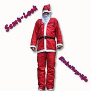 Santa Claus Costume 5Piece Velvet Look Costume Father Christmas