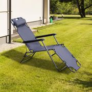 Relax......Reclining Sun Lounger by Outsunny